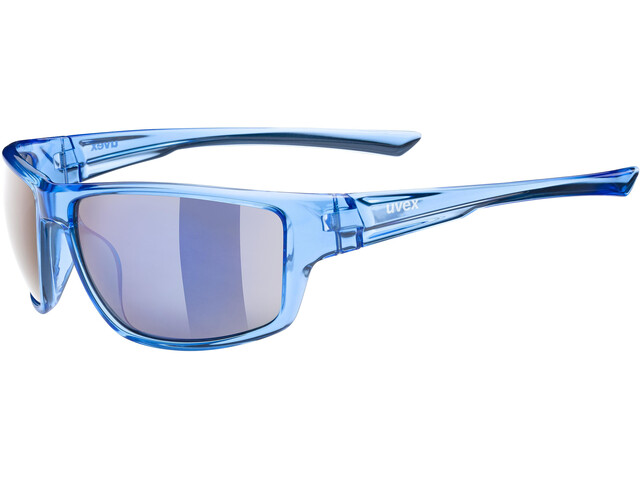 UVEX Sportstyle 230 Glasses clear blue/mirror blue
